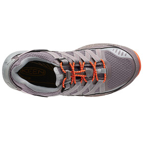 Keen Versatrail WP Shoes Women Shark/Tiger Lily
